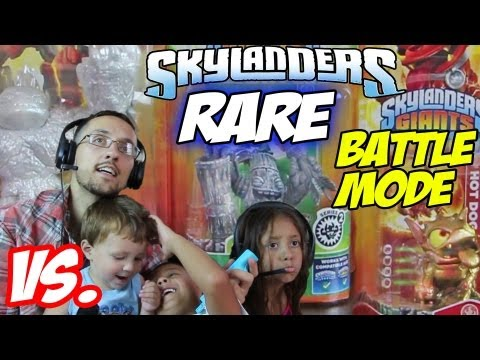 3 Kids Battle Mode w/ E3 Hot Dog, Sparkle Hot Head & Stone Zook (Rare Figures Get Upgraded too)