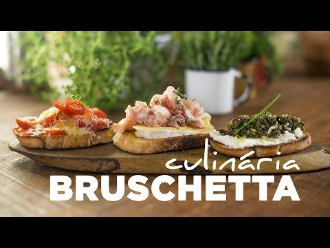 Receitas rápidas: bruschettas em três versões fáceis de fazer com a chef Rê Cruz e Chris Flores