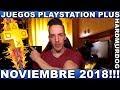 juegos Ps Plus Noviembre 2018