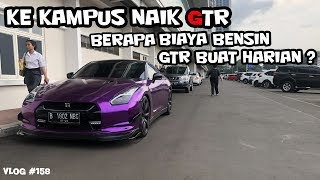 Video KE KAMPUS NAIK SUPERCAR (NISSAN GTR R35) | VLOG #158 MP3, 3GP, MP4, WEBM, AVI, FLV Mei 2019