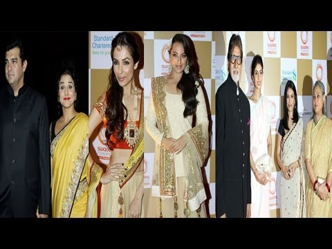 Amitabh,Jaya,Malaika Vidya & Others On Red Carpet The Star Studded Swades Fundraise Show