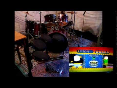 Ben – Aliens Exist – Rock Band Expert Drums & Real Drum Cover