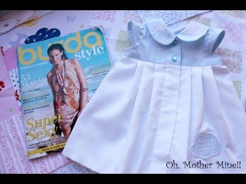 Tutorial: Cómo hacer un vestido bebe burda