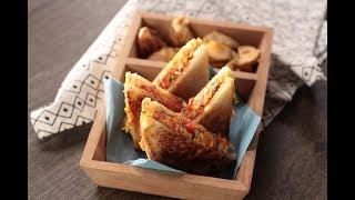 Sev Tomato Sandwich   Sanjeev Kapoor Khazana