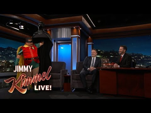Jimmy Kimmel Retires Ben Affleck Batsuit To The Rafters Ending Dark Knight Reign