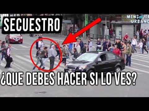 Así reaccionó la gente ante un secuestro en  Mexico// experimento social // Mensajeros urbanos