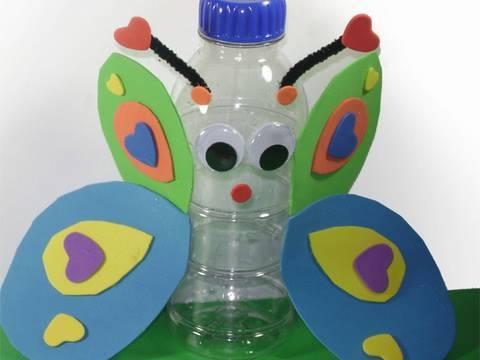 Cum sa confectionati un fluturas reciclabil