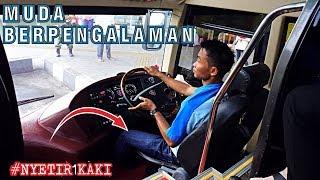 Video GAK SEMUA DRIVER BISA NYETIR BIS INI !! Nyetir Pakai 1 KAKI || Driver MUDA SAN MP3, 3GP, MP4, WEBM, AVI, FLV September 2018