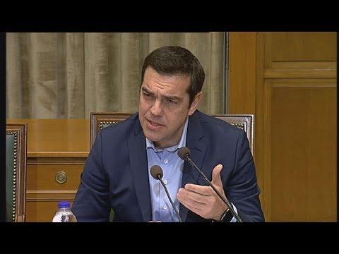 Αλέξης Τσίπρας: Το 2018 έτος δικαίωσης των θυσιών του ελληνικού λαού