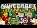Minecraft Mods: Superhero Mod (The Avengers Mod) - IncredibleCaptainThorMan!