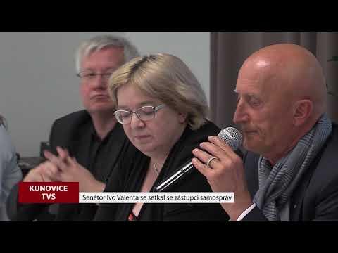 TVS: Kunovice - Senátor Ivo Valenta se setkal se starosty