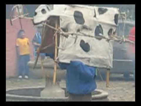 bizarbus - La Vaca Loca is an Ecuadorian tradition I learned about on a recent trip with my University. Basically, a guy with a cow on his head chases people with firew...