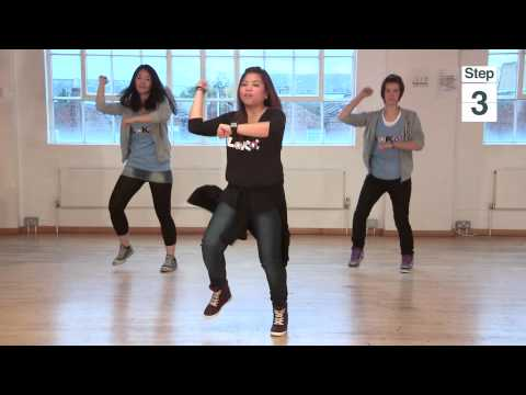 Videojug - Learn Psy's signature moves from the K-Pop phenomenon 'Gangnam Style'. This guide teaches you all the choreography from the music video in easy to follow ste...