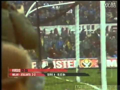 tutti i goal del milan, stagione 1984-85!