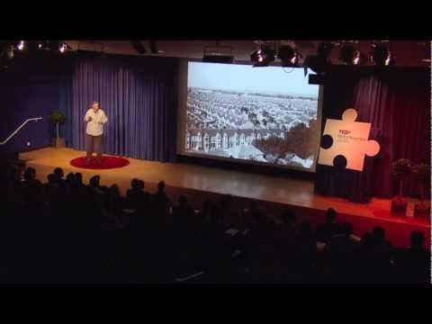 , title : 'What Makes A Community? - Roger Kitchen at TEDxMiltonKeynes'