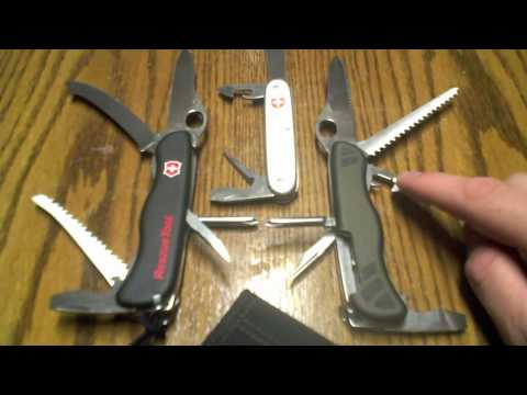 Swiss Army New Soldier vs Rescue Tool Review