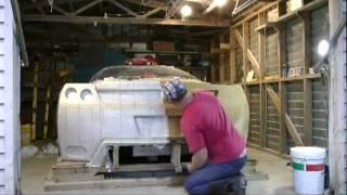 CLAY SCULPTING a Concept Ferrari Rear End - Exotic JZ COBRA