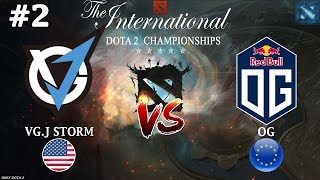 УРСА против ТРОЛЯ! | VGJ.Storm vs OG #2 (BO3) | The International 2018