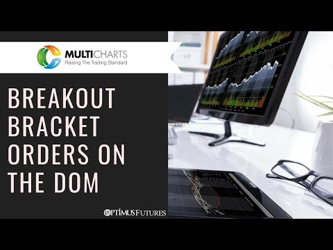 MultiCharts .NET – Submitting Breakout Bracket Orders with the Trading DOM