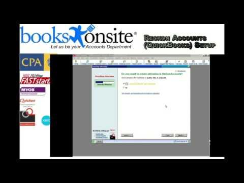 Reckon Accounts QuickBooks Bookkeeping- Company Setup