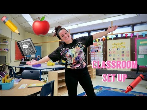 FIFTH GRADE CLASSROOM SET UP | BACK TO SCHOOL