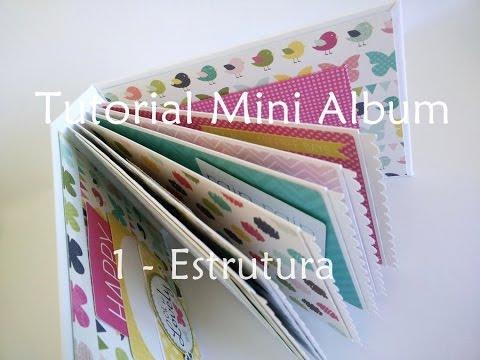 Tutorial   Scrapbook Mini Album - parte 1 (estrutura)