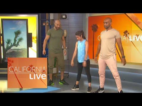 Workout with the Kodjoe Brothers | California Live | NBCLA