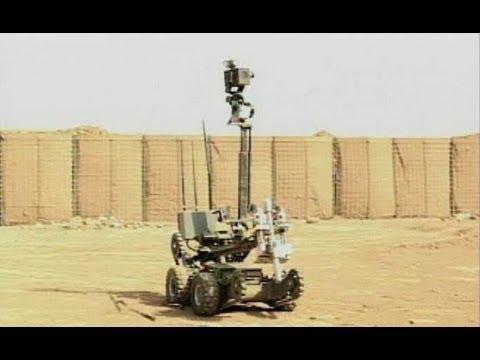 Iraqi Bomb Disposal School (Explosive Ordnance Disposal Robot) | AiirSource