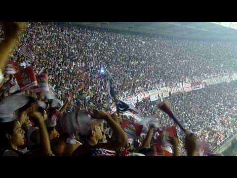 Aficionados de Junior en el estadio Metropolitano Roberto Meléndez