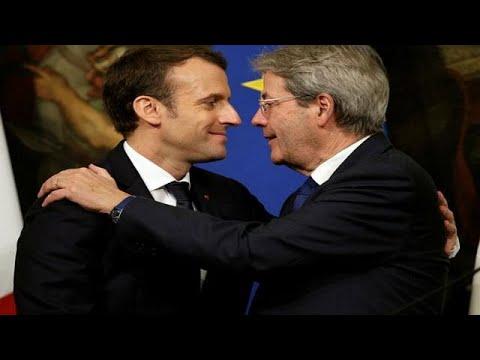 Ένα βήμα πιο κοντά Τζεντιλόνι – Μακρόν – Ιταλογαλλική συμμαχία ενισχυμένης συνεργασίας…
