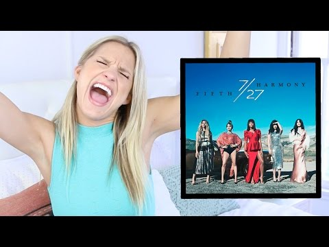 My Reaction to 7/27 By Fifth Harmony! (FIRST LISTEN)
