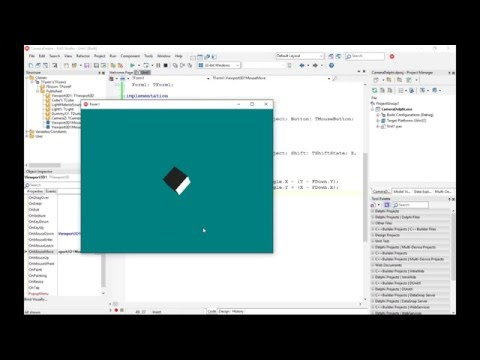 How to Use Cameras in a FireMonkey 3D Application with Delphi