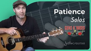 Patience - Guns 'n' Roses #3of3 (Songs Guitar Lesson ST-621) How to play