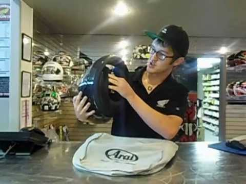 arai corsair v race carbon - Mcnasty explains the key features of the new Arai Corsair V Race Carbon Helmet.
