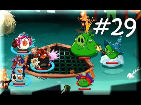 Angry Birds Epic - KING PIG'S CASTLE FINAL KING BOSS - Angry Birds Part 29 (видео)