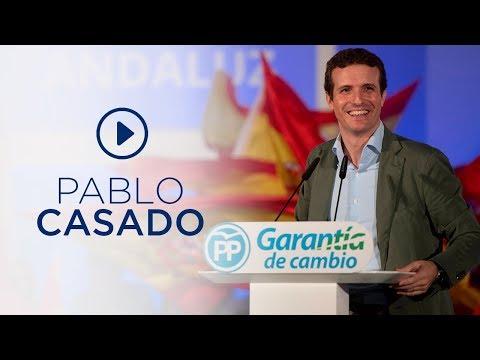 """Casado: """"Sánchez propone lo mismo que Zapatero, más gasto, más déficit, más deuda, más impuestos"""""""