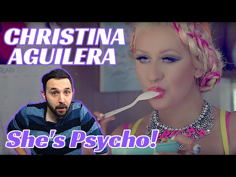 Reaction To Christina Aguilera Your Body! She's On The Hunt B'ys!