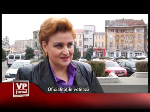 Oficialitățile votează