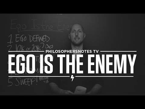 Ego is the Enemy by Ryan Holliday