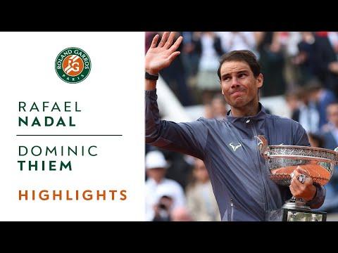 Rafael Nadal vs Dominic Thiem - Final Highlights  Roland-Garros 2019