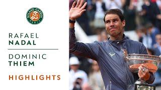 Video Rafael Nadal vs Dominic Thiem - Final Highlights | Roland-Garros 2019 MP3, 3GP, MP4, WEBM, AVI, FLV Juni 2019