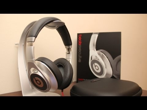 Beats by Dre Executive Unboxing and First Look