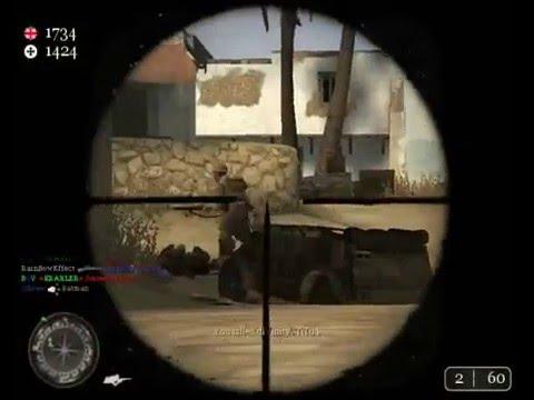call fo duty2 sniper