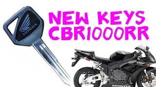 1. Making a spare HISS key for Honda CBR1000RR 2006