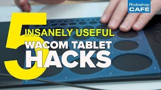5 WACOM tablet HACKS, that are insanely useful. WACOM TABLET GIVEAWAY