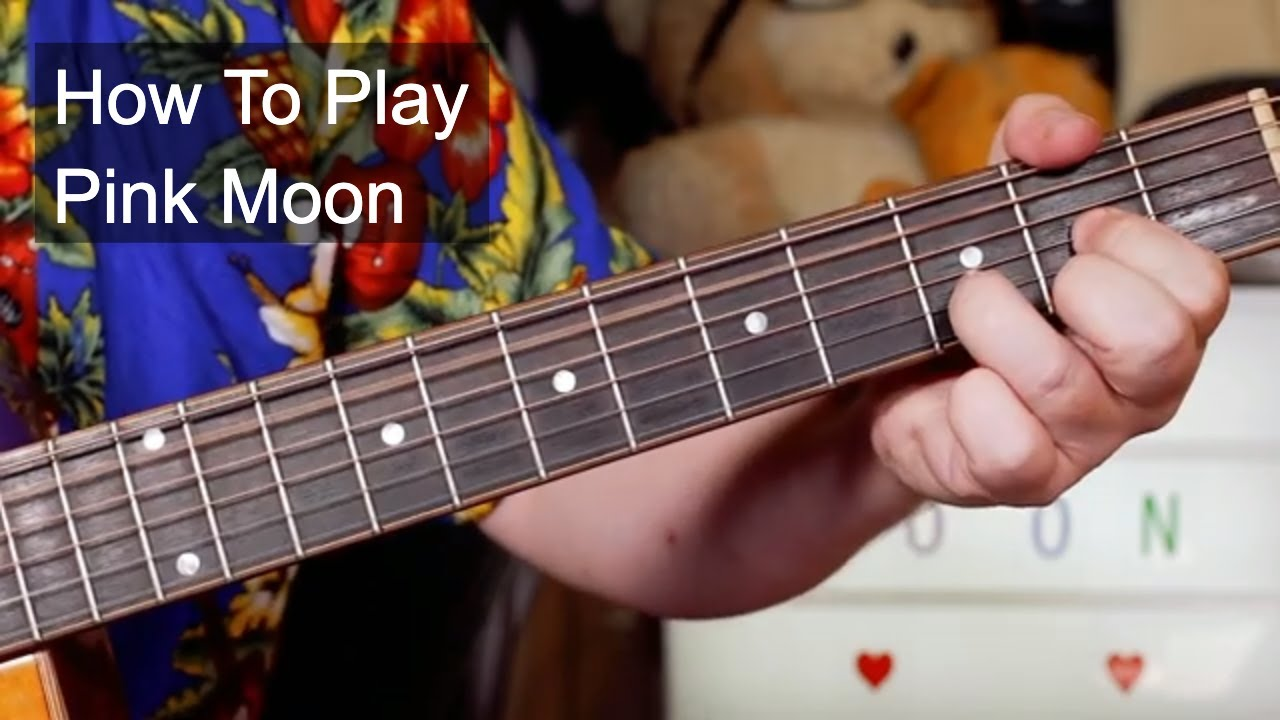 'Pink Moon' Nick Drake Acoustic Guitar Lesson (Standard Tuning)
