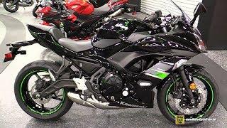 5. 2019 Kawasaki Ninja 650 Sport Package - Walkaround - 2018 AIMExpo Las Vegas