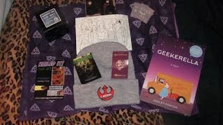 Let us see what I got in the April 2017 edition of Fan Mail! If you are a subscriber to this box and you do not want to be spoiled -- CLICK OUT OF THIS VIDEO NOW! If you do not mind being spoiled -- CONTINUE TO WATCH and let us celebrate all things geek!Subscribe! Make sure to click on the bell so you know when I upload a new video!Follow me on Facebook and Twitter: JoiseyDaniFollow me on Instagram: JoiseyDani78Thanks for watching!