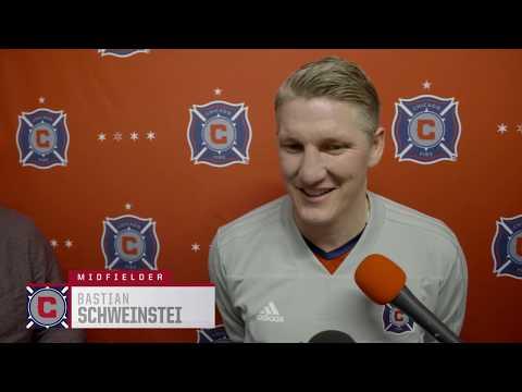 Video: Bastian Schweinsteiger on his 2018 preseason outlook