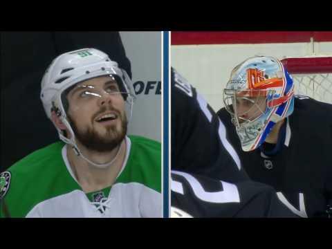 Video: Seguin looks skyward after Greiss robs him